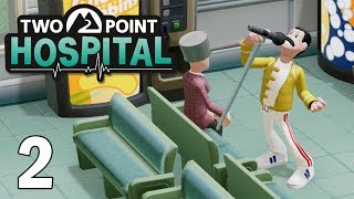 Mock Star, Pandemic, and Ghosts Oh My! - Two Point Hospital Gameplay - Part 2