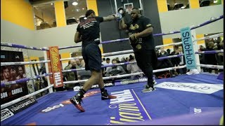 CRAIG 'SPYDER' RICHARDS (FULL & COMPLETE) PUBLIC WORKOUT / WHYTE v BROWNE