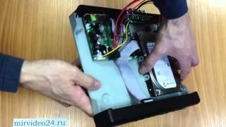 REC-1004 как установить жесткий диск в видеорегистратор(Установка жесткого диска в видеорегистратор Optimus REC-1004 Купить видерегистратор http://mirvideo24.ru/product/rec-1004 Характе..., 2013-04-29T01:07:12.000Z)