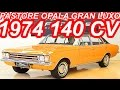 PASTORE Chevrolet Opala Gan Luxo 4100 1974 Marrom Cajú aro 14 MT3 RWD 140 cv 29 mkgf #Opala