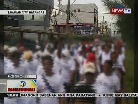 BT: Mga dating drug dependent, sumabak sa walk of change