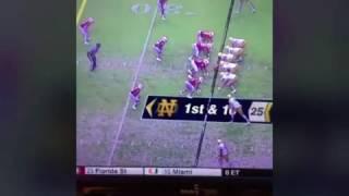 Football americano, l'uragano Matthews non ferma North Carolina e Notre Dame
