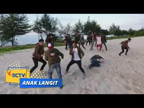 Pertempuran di Pinggir Pantai antara Rimba dan Zaki | Anak Langit - Episode 1015 dan 1016