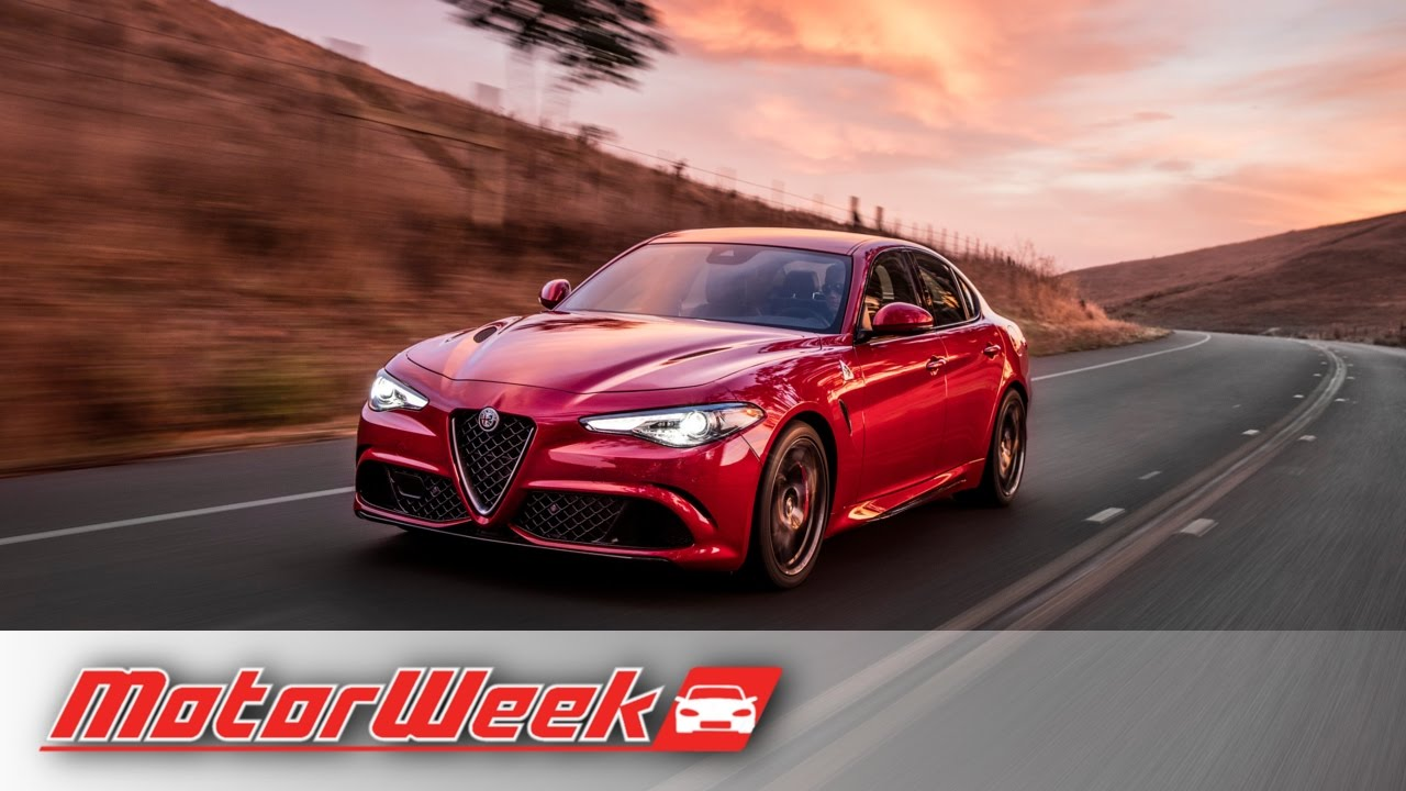 Road Test 2017 Alfa Romeo Giulia , Ferrari Engine, Italian Style, German  Dynamics