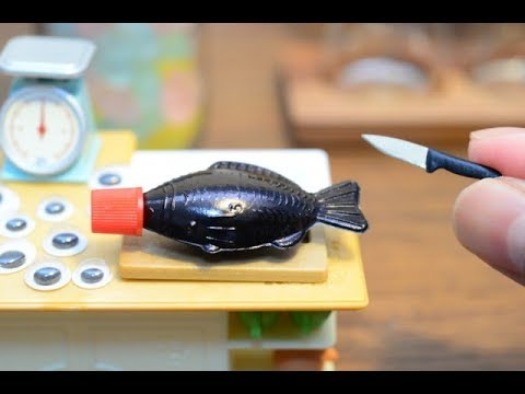 Stopmotion Cooking -Miniature SASHIMI-