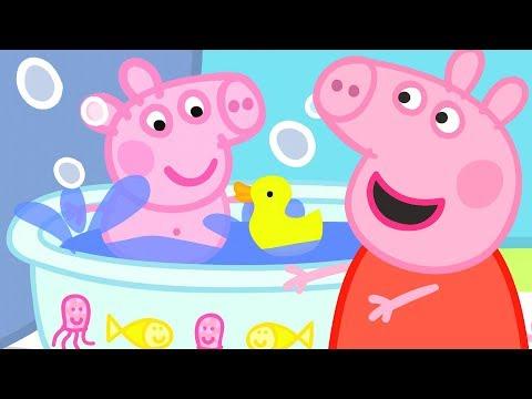 Peppa Pig en Español Episodios completos Bebé Guarro | Pepa la cerdita
