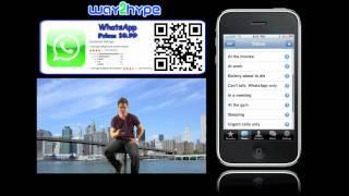 WhatsApp Messenger iPhone Video Review