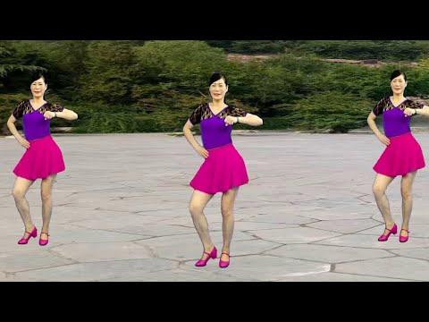 大众动感健身步子舞《姑娘姑娘你真的漂亮》时尚好看,简单好学!【孝昌开心美美哒广场舞】