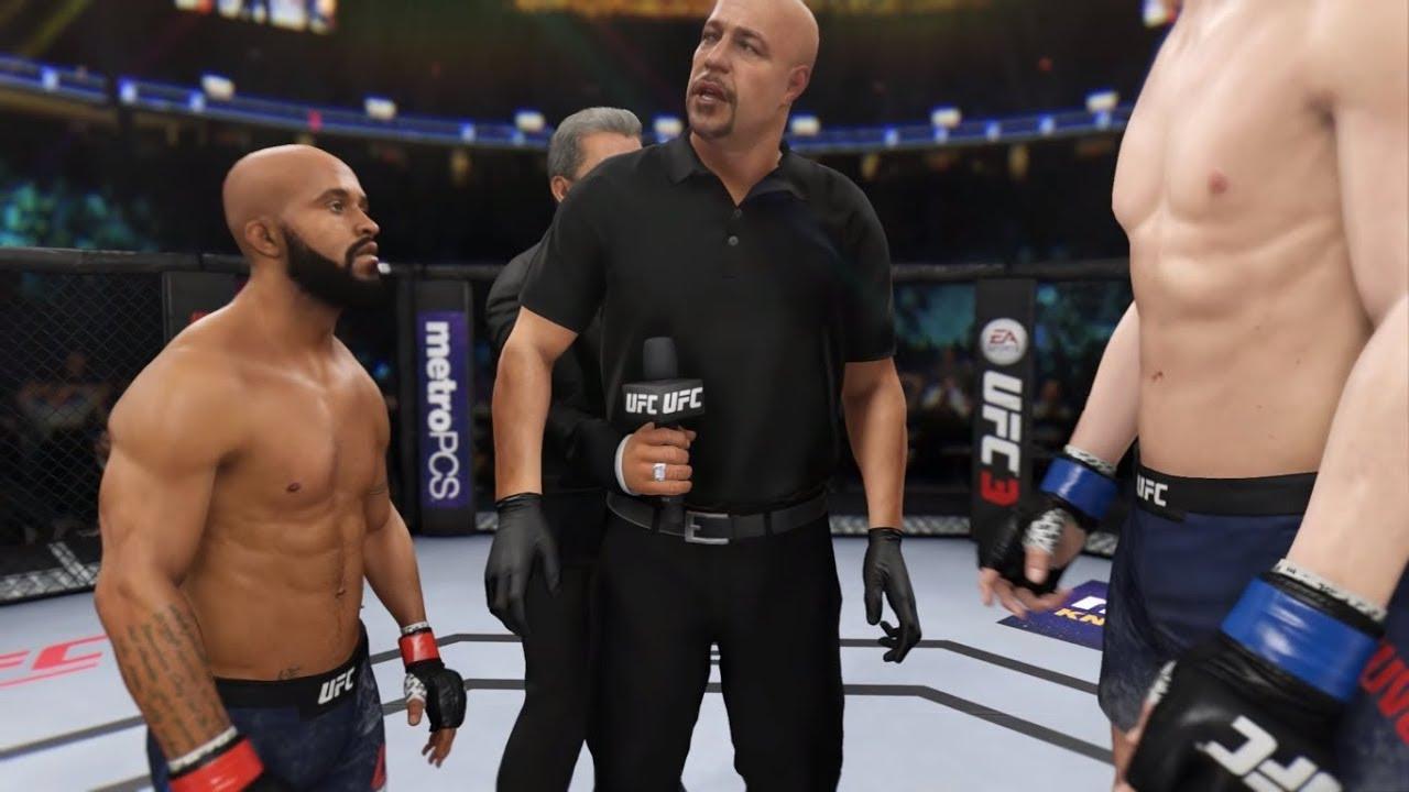 Download Stefan Struve vs. Demetrios Johnson (EA Sports UFC 3) - CPU vs. CPU