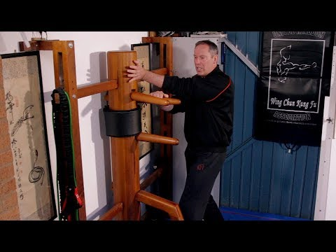 Wing Chun - Wooden Dummy Basics Pt 3