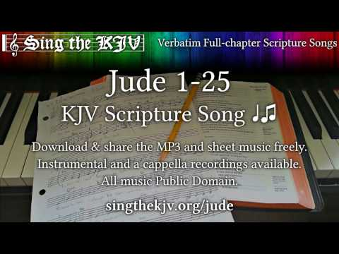 Jude 1-25 ♩♫ KJV Scripture Song, Full Chapter