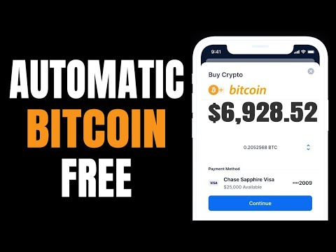 How To Earn $6387 AUTOMATIC Bitcoin | (FREE) Earn 1 BTC Fast