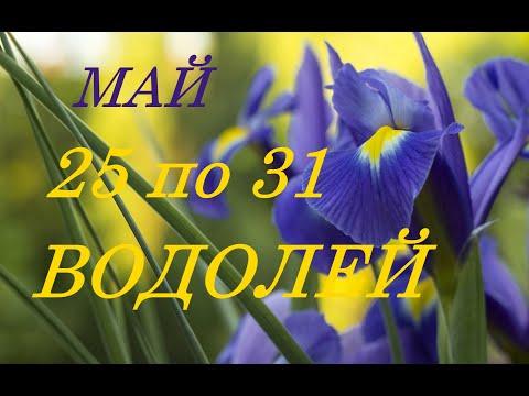 ВОДОЛЕЙ. ТАРО-ПРОГНОЗ на НЕДЕЛЮ с 25 по 31 МАЯ 2020 г.
