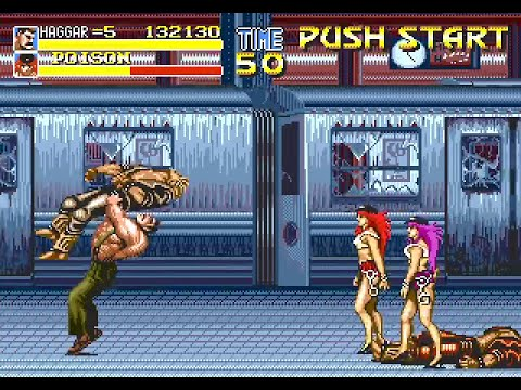 Final Fight CD (Pyron's Color Hack - version 1) | Sega Mega CD Longplay [60  fps]