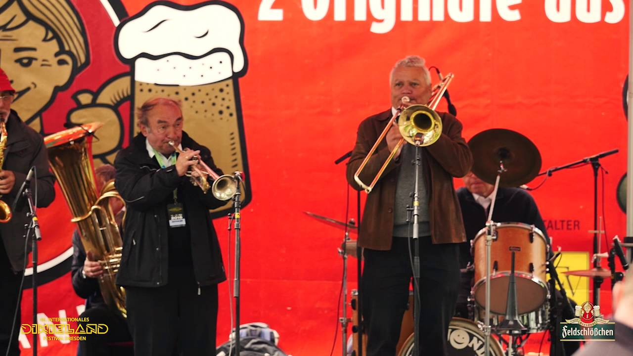 Eröffnung Dixieland-Festival Dresden 2016 - Dixieland in Familie