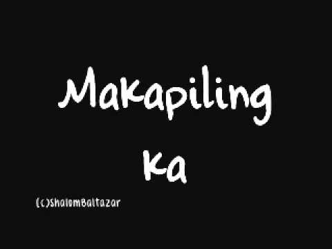 Sponge Cola - Makapiling ka Lyrics