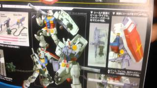 Unboxing: MG RX-78-2 Gundam OYW ver. & VP Gundam NT-1 Alex Conversion Kit