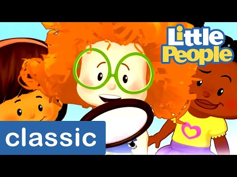Songs For Children | #TBT Little People Classic 🎵 Best Of The Little People! 🎵 Cartoons For Children