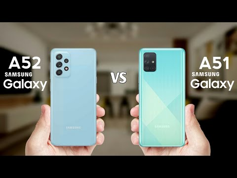 Samsung Galaxy A52 Vs Samsung Galaxy A51 –  Full Spec Comparison