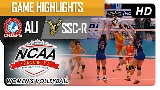 getlinkyoutube.com-AU vs SSC-R | Finals Game Highlights | NCAA 92 WV | February 7, 2017