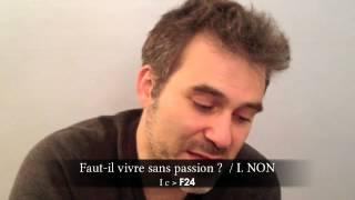 """La dissertation de philosophie avec le Jeu du Phénix : """"Faut-il vivre sans passion ?"""""""