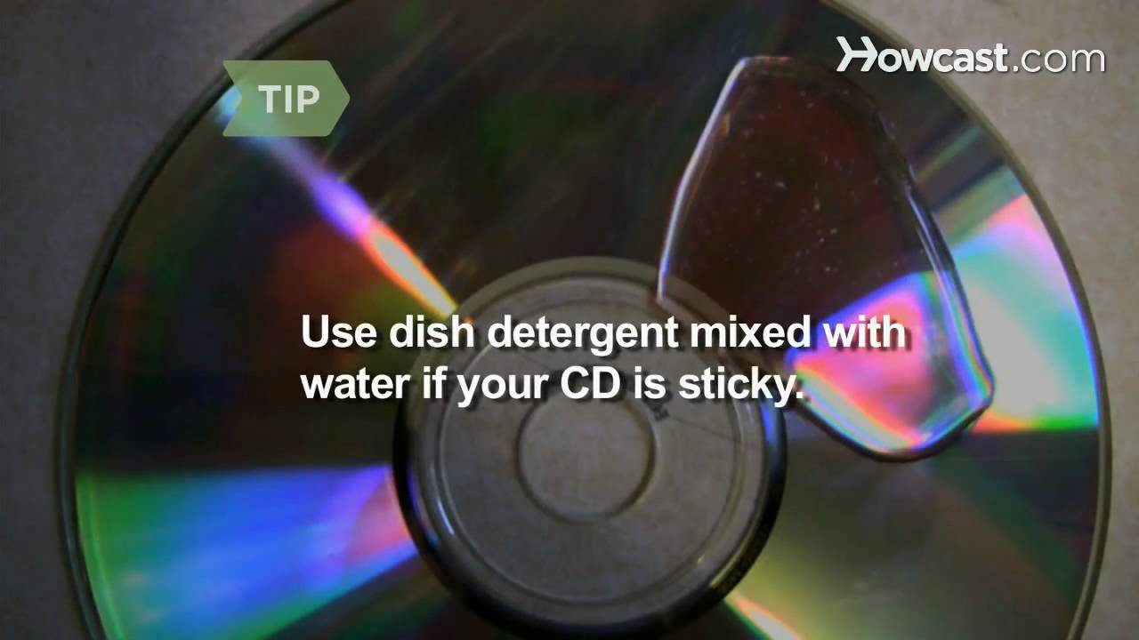 How To Clean Cds Youtube