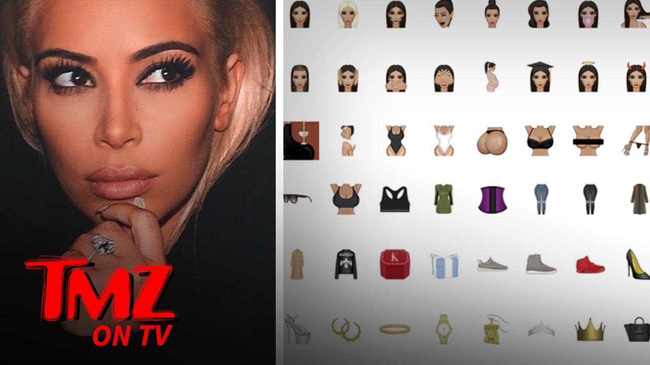 Kim Kardashian busca ampliar su línea de Kimoji | Empresa de TMZ TV