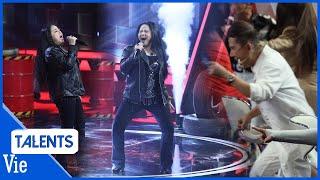 Long Nhật hò hét khi nữ hoàng nhạc rock Ngọc Ánh xuất hiện tại Siêu Bất Ngờ, làm lu mờ 2 MC
