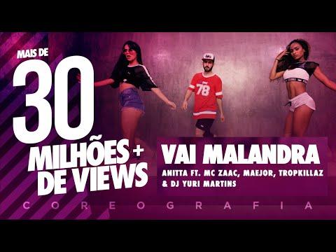 Vai Malandra - Anitta ft Mc Zaac Maejor Tropkillaz & DJ Yuri Martins Coreografia  FitDance TV