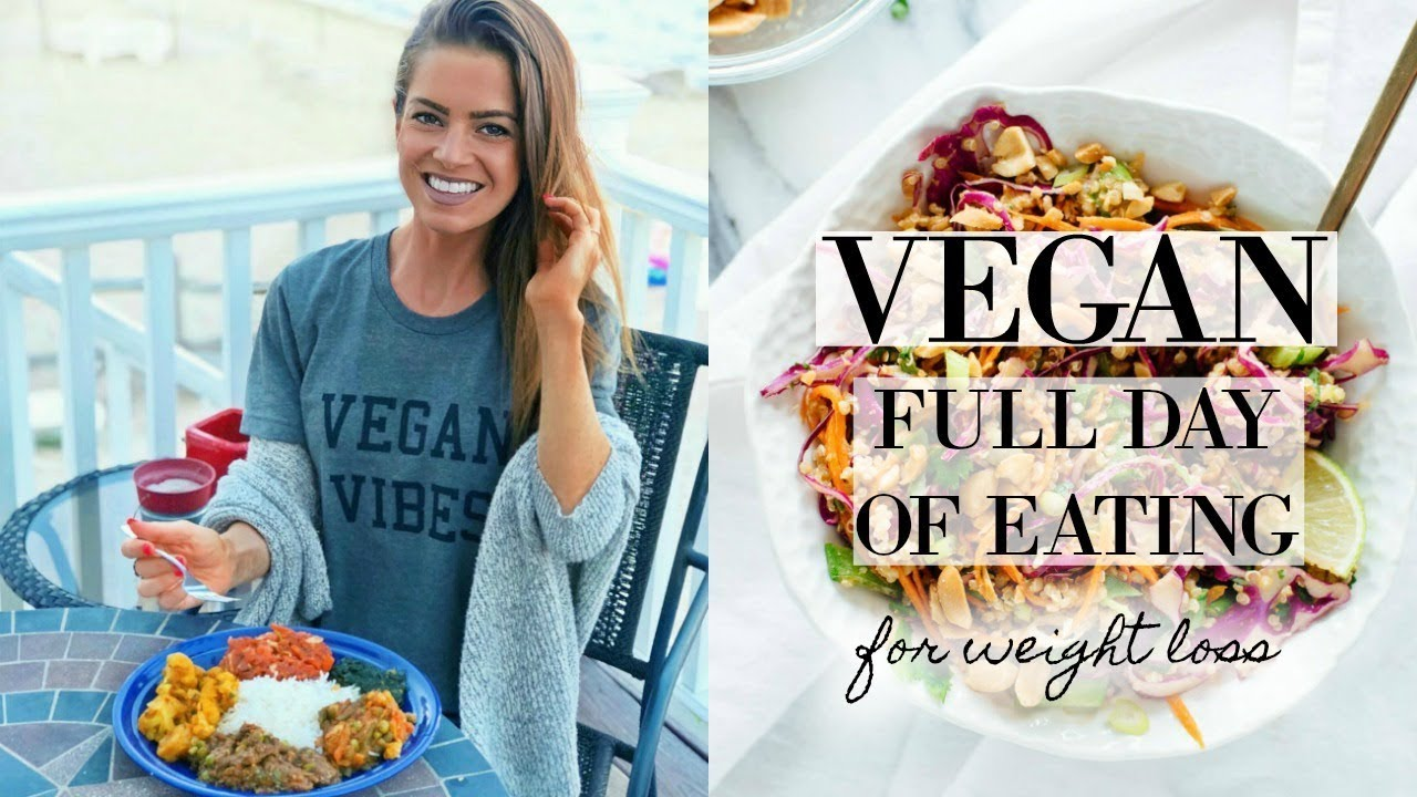 VEGAN WEIGHT LOSS MEAL PLAN / FULL DAY OF EATING