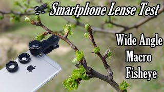 Smartphone Lense Test | Wide Angle, Fisheye And Macro Lense Test | New Technology | 2019