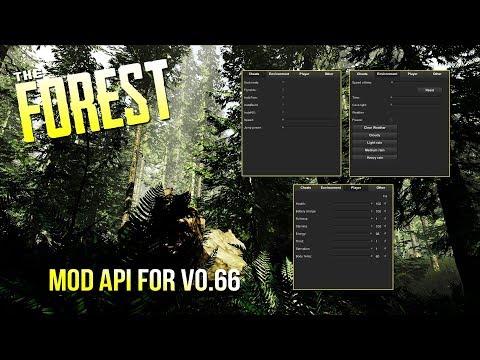 The Forest Mod API For v0.66 (Mediafire Link In Description)