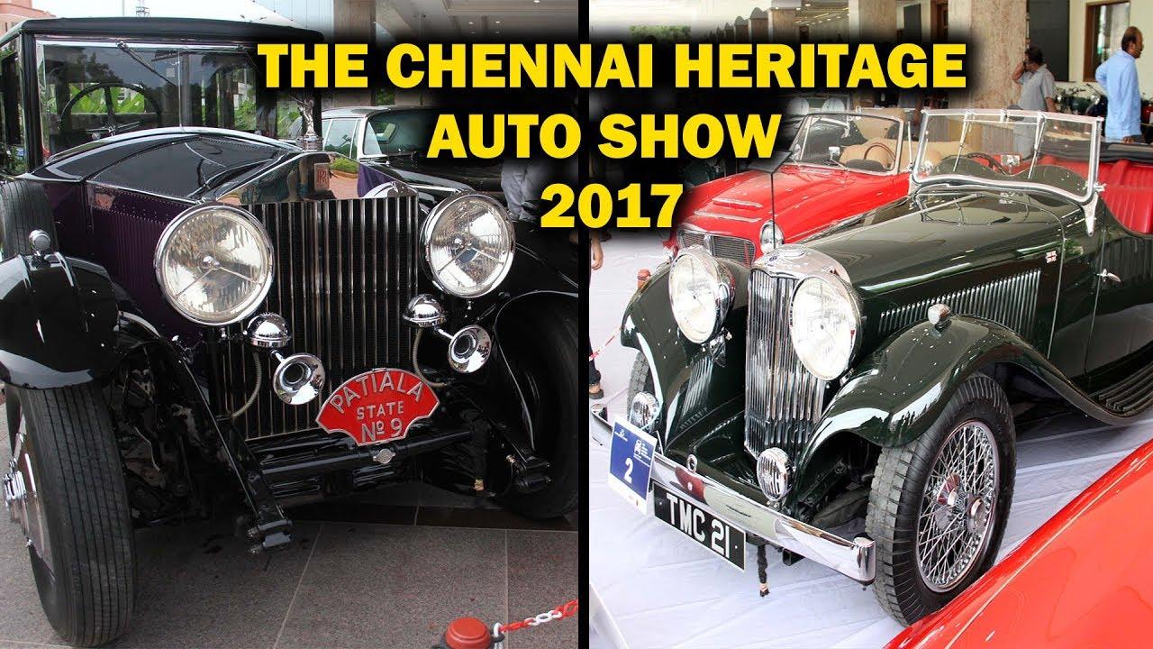 The Chennai Heritage Auto Show 2017 Madras Heritage Motoring