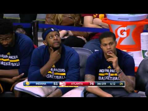 Every basket from Hawks' 28-2 run vs. Pacers