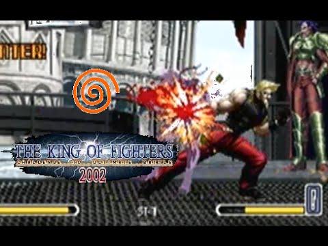 The King of Fighters 2002 Dreamcast-foto:reprodução