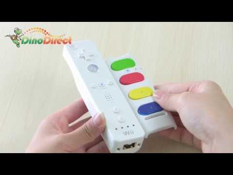 Nintendo Wii Guitar Remote Controller Adapter - dinodirect
