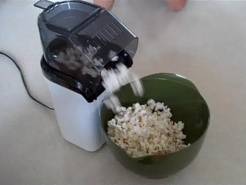 How to Make Salt Stick to Air Popped Popcorn