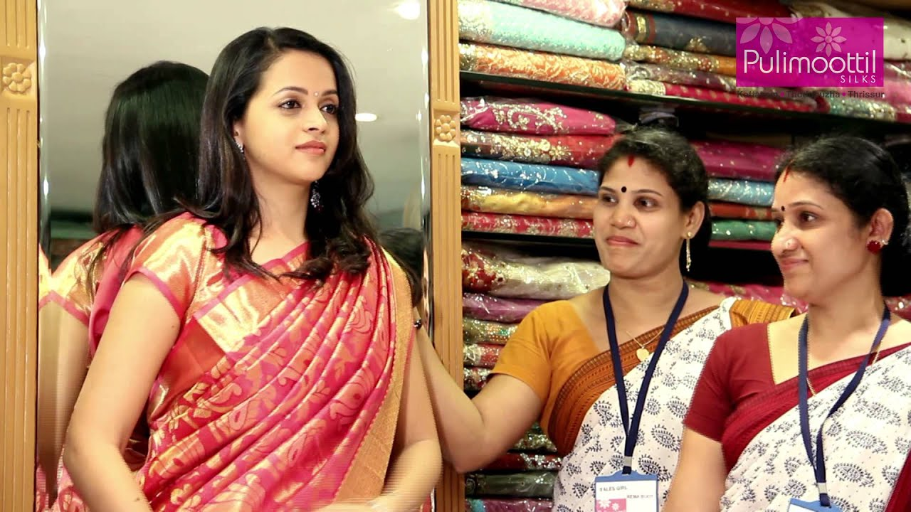 Bhavana at pulimoottil silks youtube thecheapjerseys Gallery