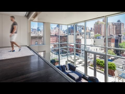 Cool Rooftop Penthouse Apartments, Design and Architecture