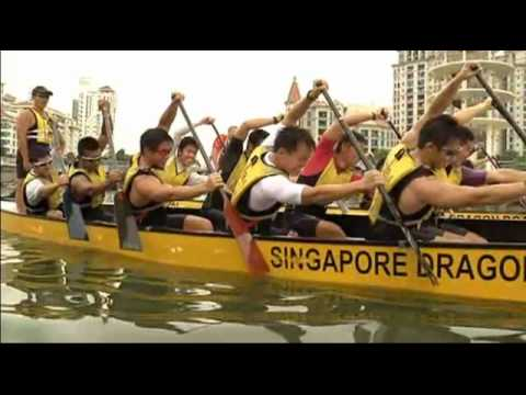 Singapore 2010 Youth Olympic Games - Singapore Dragon Boating Hunks