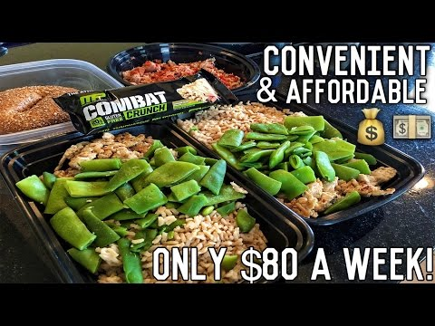 Meal Prep On A College Budget | Shredding Meal Plan | Perfect For Students