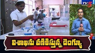 విశాఖను వణికిస్తున్న డెంగ్యూ | Dengue Danger Bells in Vishaka |TV5 News