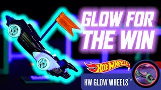 GLOW FOR THE WIN WITH HW GLOW WHEELS™ | Hot Wheels