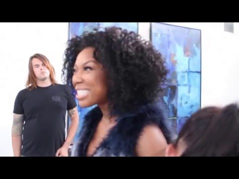 """Brandy Behind-The-Scenes of """"The Perfect Match Movie"""""""