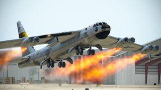 Worst Emergency Landing By B-52 Pilot After Engines Catch Fire | XP11