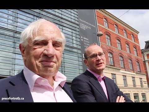 Coveney and Sutherland - Bilderberg Meeting