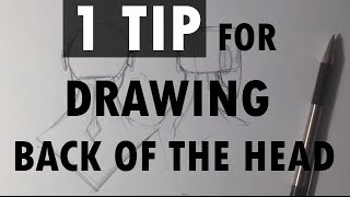 1 Tip for Drawing the Back of the Head - Easy Things To Draw