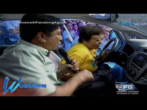 Wowowin: Who will win the brand new car?