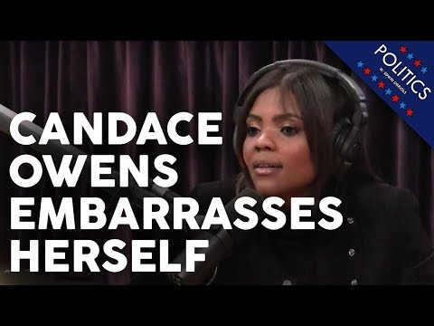 Candace Owens Embarrasses Herself on Joe Rogan Podcast