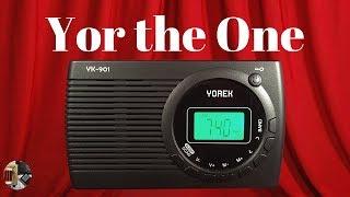 Yorek YK-901 AM FM Shortwave Portable Radio Unboxing & Review